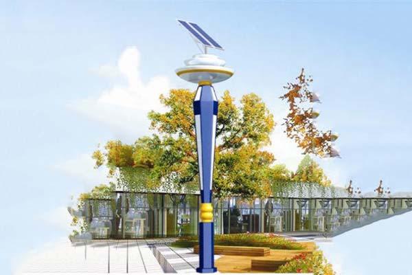 太陽能一體化庭院燈