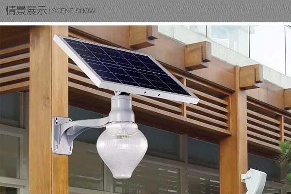 河南太陽能一體化庭院燈
