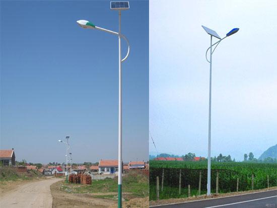 太陽能路燈使用