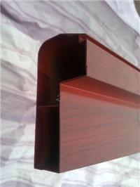 陕西壁柜门木纹铝型材