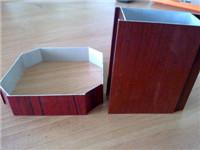 河北壁柜门木纹铝型材