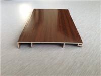 木纹地脚线铝型材