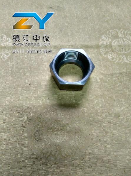 上海不锈钢单卡套螺母