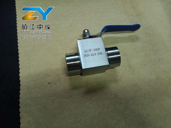YZF3-Q11F高压球阀