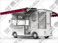 美食电动快餐车