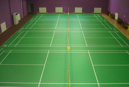 重庆羽毛球场pvc地板