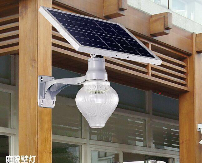 昆明云南太阳能一体化庭院灯