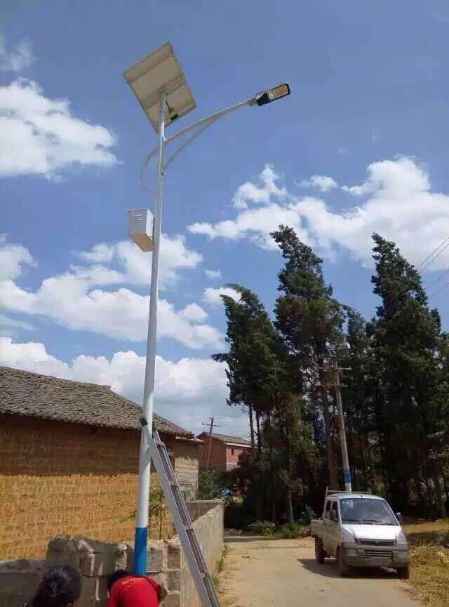 大理農村太陽能路燈