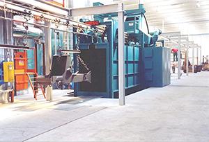 【文章】山东抛丸机工艺确保工件更好清洗 山东抛丸机清理上注意什么