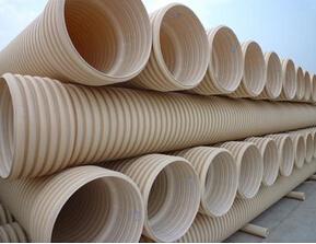 PVC双壁波纹管材