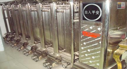 不銹鋼伸縮門加工