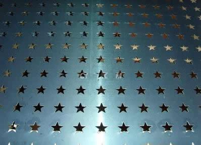 五角星冲孔产品