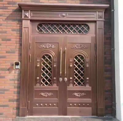 石家庄复合铜门