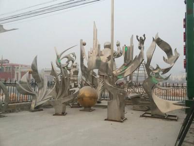 石家庄不锈钢雕塑销售