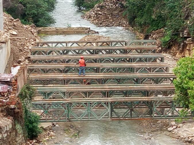 贵州钢便桥