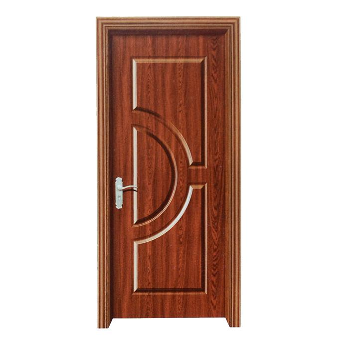 黄柚木套装门