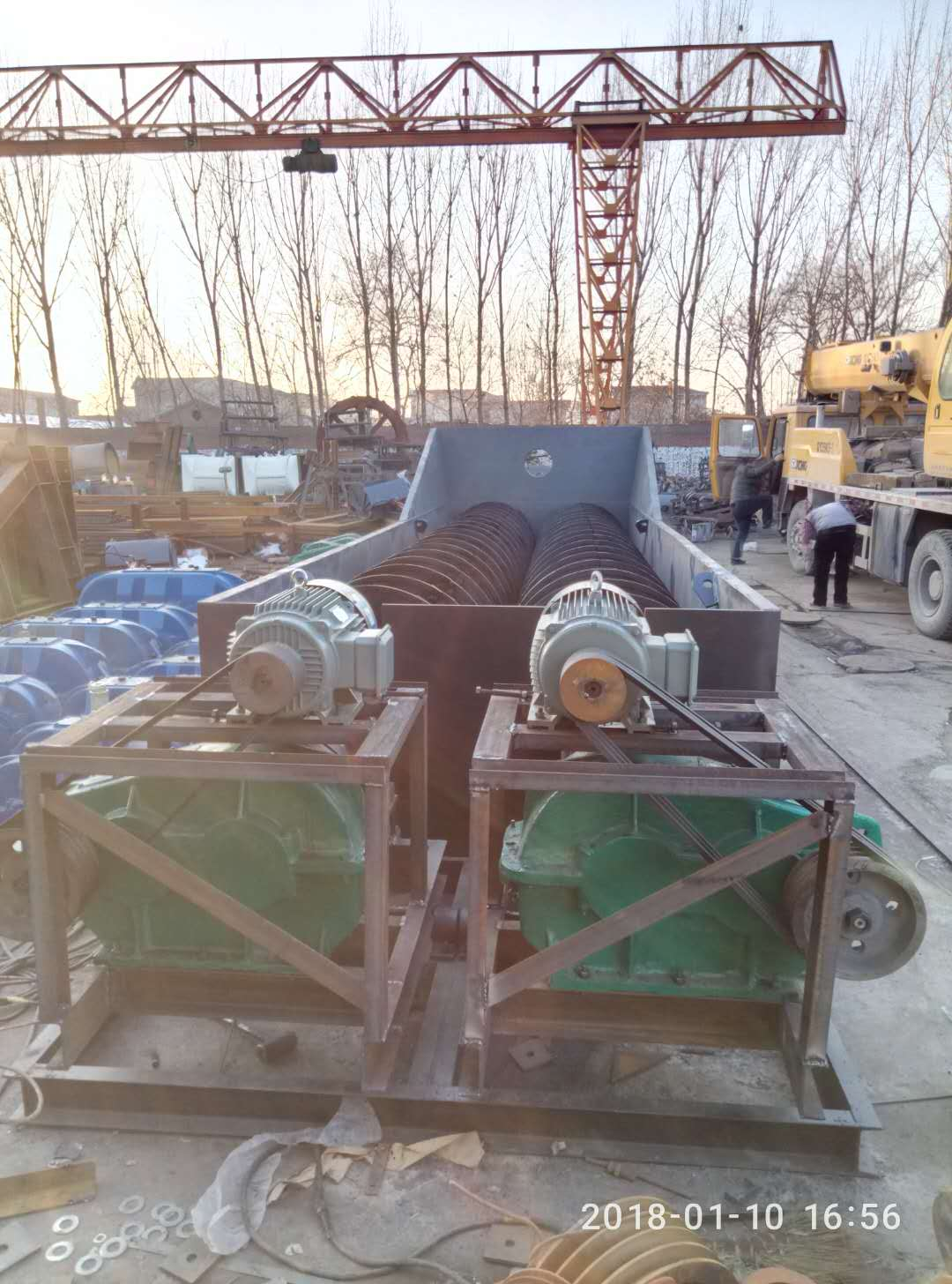 双轴螺旋洗砂机