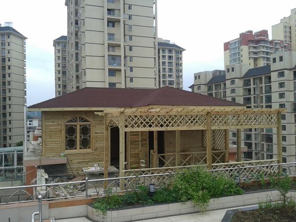 赤水防腐木房子