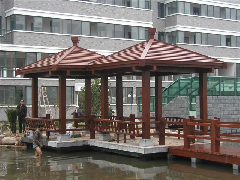 赤水防腐木凉亭