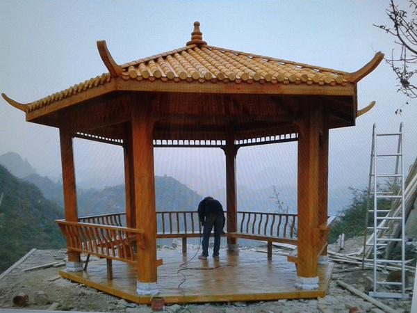 赤水贵州防腐木凉亭