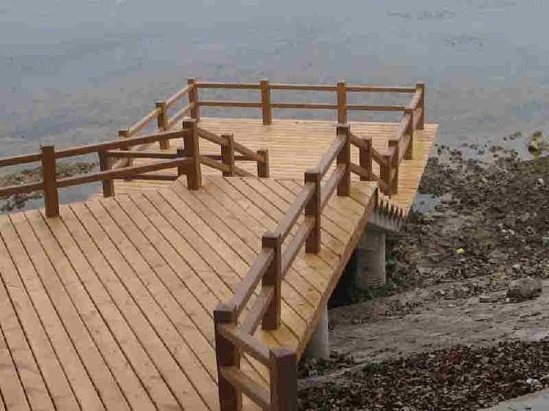赤水防腐木栏杆