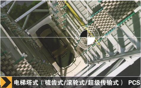 pcs电梯塔式立体停车库