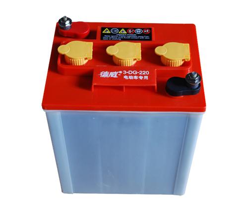 校园游览车用蓄电池3-DG-220