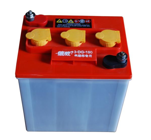 城管车用蓄电池3-dg-190