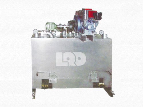LQD600机械双缸热熔釜