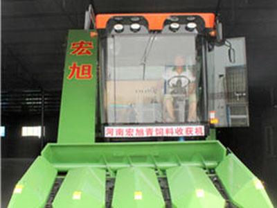 自走式玉米青储机