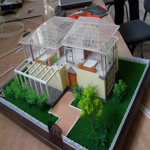 别墅户型模型制作