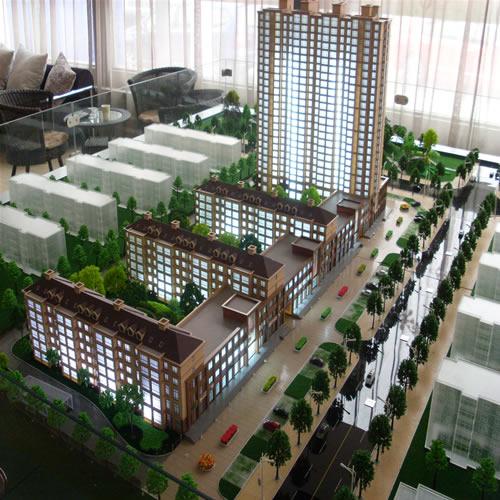 石家庄建筑模型
