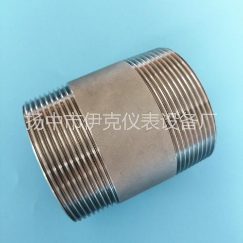 碳钢不锈钢双丝头/双头外丝螺纹短接/单丝头短管短节