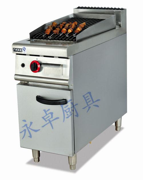 立式燃气/电热火山石烧烤炉连柜座 GB-979/EB-879