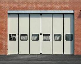 仓库折叠门