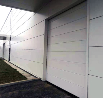 铝合金排挂门