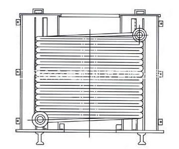 远红外电阻带盘管加热器装置
