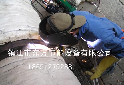 工地管道焊接