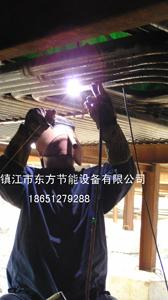 管道焊接工地