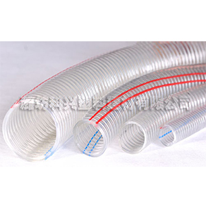 PVC钢丝螺旋增强软管