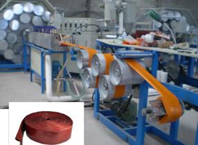 PVC涂塑水带生产机械
