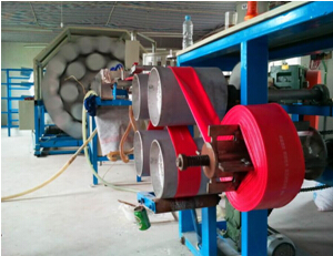 PVC特制涂塑水带生产线