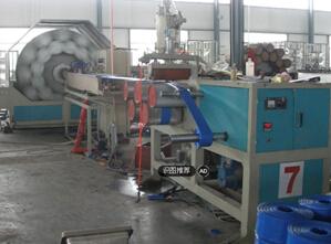 PVC涂塑水带生产线