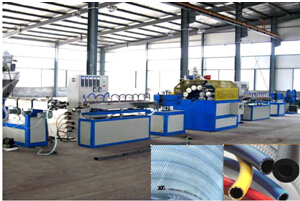 PVC纤维软管生产线
