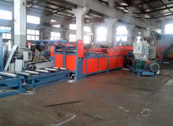 塑面建筑模板生产线