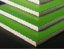 模板覆塑生产线