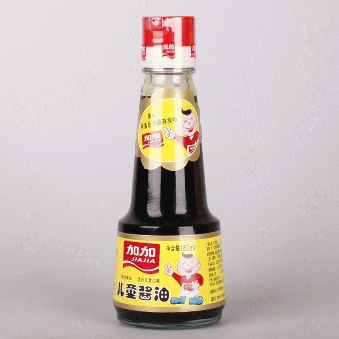 加加儿童酱油160ml