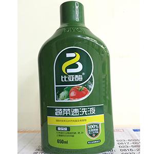比亚酶-蔬菜速洗液-食品级650ml