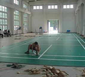 运动PVC地板革