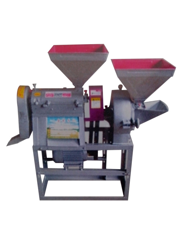 挂档式米机配加宽筛框式粉机